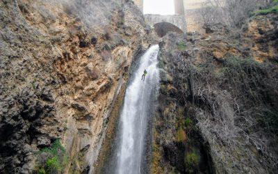 Descenso del Barranco del Tajo de Ronda.